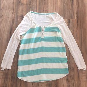 Maurice's long sleeve-3/4 sleeve blouse.
